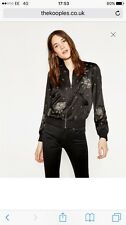 The Kooples Bomber Jacket With Embroidered Stardust