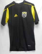 The Columbus Crew FC Black Short Sleeve Addidas Shirt Size XS