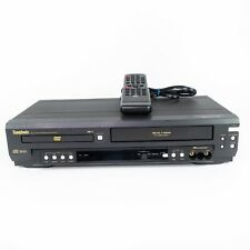 Symphonic Sd7S3 Dvd Vcr Combo Vhs Player Recorder With Remote - Tested