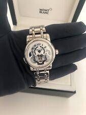 MONTBLANC Nicolas Rieussec Monopoussoir Chronograph Automatik - Uhr Watch 107068