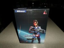 Mass Effect 3 Ashley Williams Play Arts Kai Action Figure Bioware EA Brand NEW