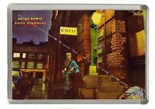 David Bowie Ziggy Stardust Fridge Magnet - Jumbo Size 90mm x 60mm