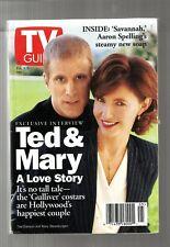 TV GUIDE-2/1996-TED DANSON-MARY STEENBURGEN-GULLIVER'S TRAVELS-SAVANNAH