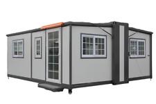 Bastone Mobile Expandable Prefab House 16ft X 20ft Portable Container Office