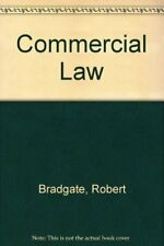 Commercial Law-Robert Bradgate, 9780406514127