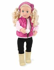 New Our Generation Doll 18 Inch Deluxe Audrey Ann With Book & 2 Outfits