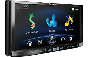 "Pioneer AVIC-Z150BH in-Dash Navigation AV Receiver w/7"" WVGA Touchscreen Display"