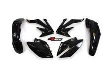 Honda CRF450X 2008 2009 2010 2011 2012 Black Plastic Kit Plastics CRX-NR0-415