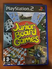 JUNIOR BOARD GAMES - PLAYSTATION 2 PS2 USATO
