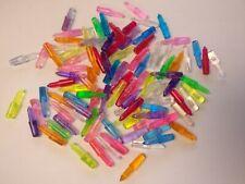 Lite Brite Pegs Vintage Medium 1 Inch LOT of 100 Hasbro Multicolor Mixed Set