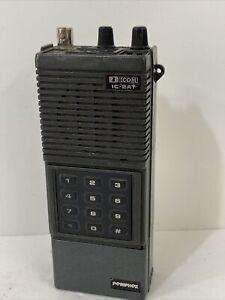 Vintage ICOM IC-2AT Handheld 2 Meter FM VHF Transceiver Made In Japan