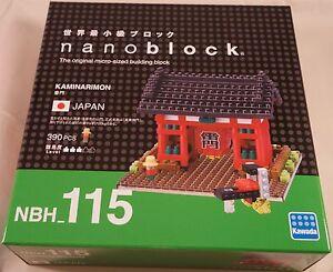 Kawada Nanoblock KAMINARIMON New-Showplace in Tokyo block building toys NBH-115