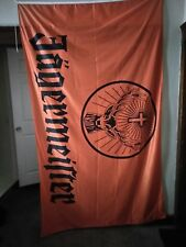 JAGERMEISTER NYLON FLAG BANNER 8 X 5 FEET!  Brand New!!!!!!1  Priced to sell!