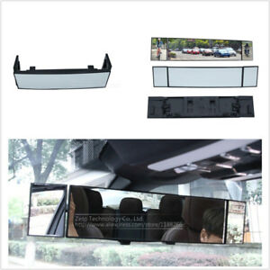Car SUV Panoramic Anti-dazzling Rearview Mirror Large 380mm Curved Mirror
