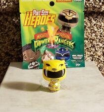 FUNKO Pint Size Heroes YELLOW RANGER Vinyl Mighty Morphin Power Rangers 2017 New