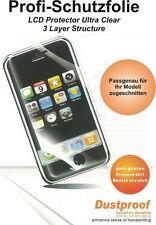 Displayschutzfolie 3 Stück kompatibel zu Apple iPhone 2G/3G/3GS - Spiegeleffekt