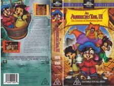 AN AMERICAN TAIL 111  VHS VIDEO PAL A RARE FIND~ MINT SEALED