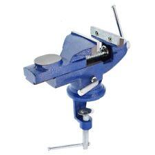 Schraubstock 70 mm mit Amboss drehbar, Tischklemme, Tisch und Bankschraubstock