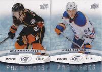 14-15 UD Ice Oscar Klefbom /799 Rookie Oilers 2014 Upper Deck