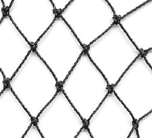 """25' x 150' Heavy Knotted Aviary 2"""" Poultry Net Netting"""