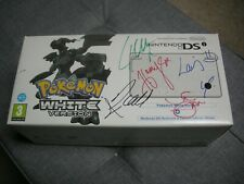 Nintendo DSi Pokemon White Version Signed By One Direction