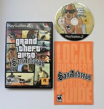 GTA Grand Theft Auto San Andres Playstation 2 PS2 Complete With Manual