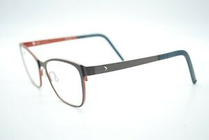 NEW BLACKFIN BF753 MARGATE COL. 589 BROWN AUTHENTIC EYEGLASSES RX 52-17