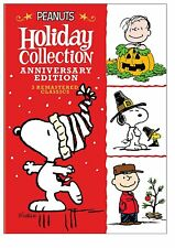 Peanuts (Charlie Brown) Holiday Anniversary Collection NEW 3-DISC DELUXE DVD SET