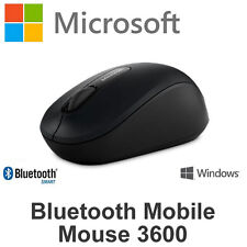 Microsoft Bluetooth Mobile Mouse Black PN7-00005 Wireless for Laptop Tablet PC
