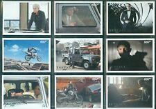 James Bond Autograph & Relics Skyfall 110 Card Silver Parallel Set
