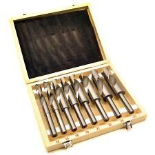 """14-25mm Blacksmith HSS Twist Drill Bit Set 1/2"""" Shank TE112"""