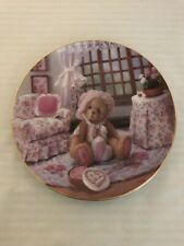The Hamilton Collection - Valentines For You - Cherished Teddie Plate