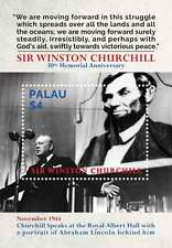 Palau - Sir Winston Churchill - S/S - 2015 MNH