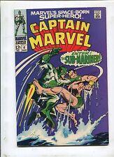 CAPTAIN MARVEL #4 (6.5) THE ALIEN AND THE AMPHIBIAN!
