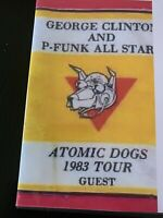 P-Funk All-Stars Atomic Dog Tour LIVE 2 CD Set.(Venue Recorded) Full Concert