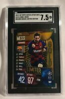 2019-20 Topps Match Attax UEFA Golden Squad LE13 Lionel Messi Limited Edition