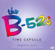 THE B-52's Time Capsule CD/DVD BRAND NEW NTSC Region All Slipcase