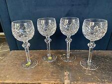 Waterford Crystal Powerscourt Wine Hock Glass Ireland 7 1/2