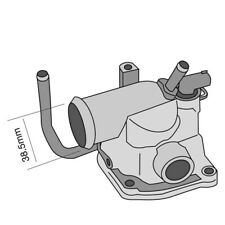 THERMOSTAT FOR MERCEDES BENZ M-CLASS ML 270 CDI W163 (1999-2005)