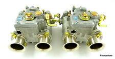 Weber 40 DCOE 18K paire glucides / carburateurs Lotus Twincam spécification originale