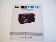 Ge Fanuc Gek-25376 Programmable Controller Series Three Manual - Free Shipping