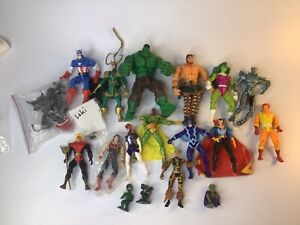 Vintage Avengers Marvel Action Figure Old Toy Collection Super Hero 1 of 5