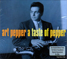 ART PEPPER - A TASTE OF PEPPER (NEW SEALED 2 CD)