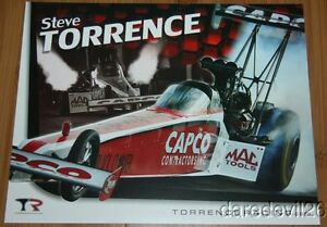 2014 Steve Torrence Capco Top Fuel NHRA postcard