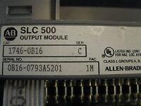 Allen Bradley Output Module 1746-OB16 SLC 500