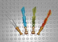 LEGO Ninjago - Eisschwert Feuerschwert Blitzschwert Erdschwert / ice fire sword