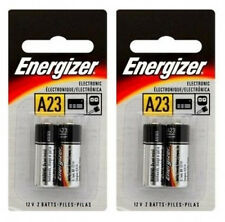 4 pcs Energizer A23 Battery 12V/23GA A23 E23A GP-23AE