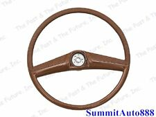 69 70 71 72 Chevy Pickup PU Truck Steering Wheel - Saddle CPSW6972-3