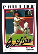 David Bell #35 signed autograph auto 2004 Topps Baseball Trading Card