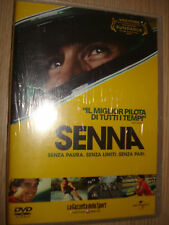 DVD AYRTON SENNA SENZA PAURA,SENZA LIMITI,SENZA PARI FILM FESTIVAL 2011 SEALED